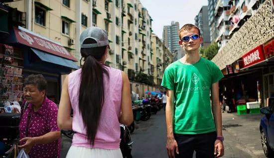 2016年,摄于中国上海