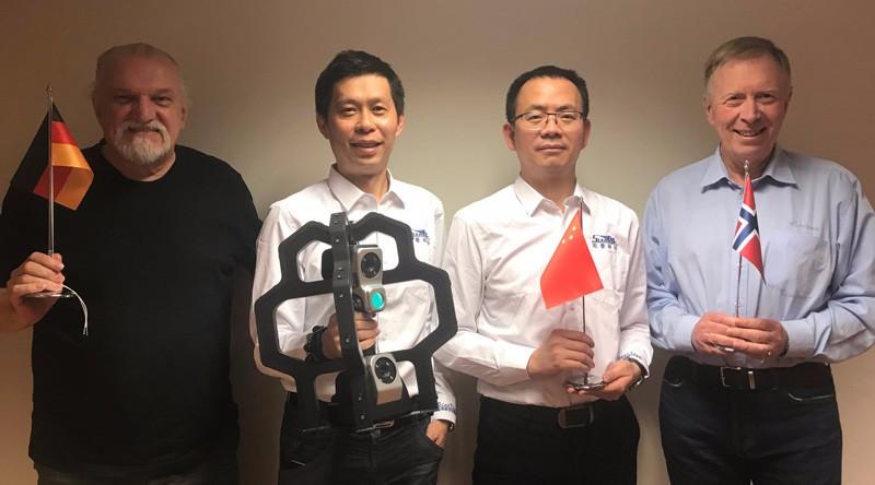 一家专注提供智能机器视觉和三维数字化设备的黑科技企业